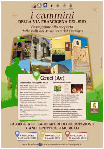 I Cammini della Via Francigena del Sud - Tappa di Greci